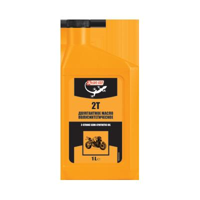 2 STROKE SEMI-SYNTHETIC OIL, 1л TM102 3TON – фото