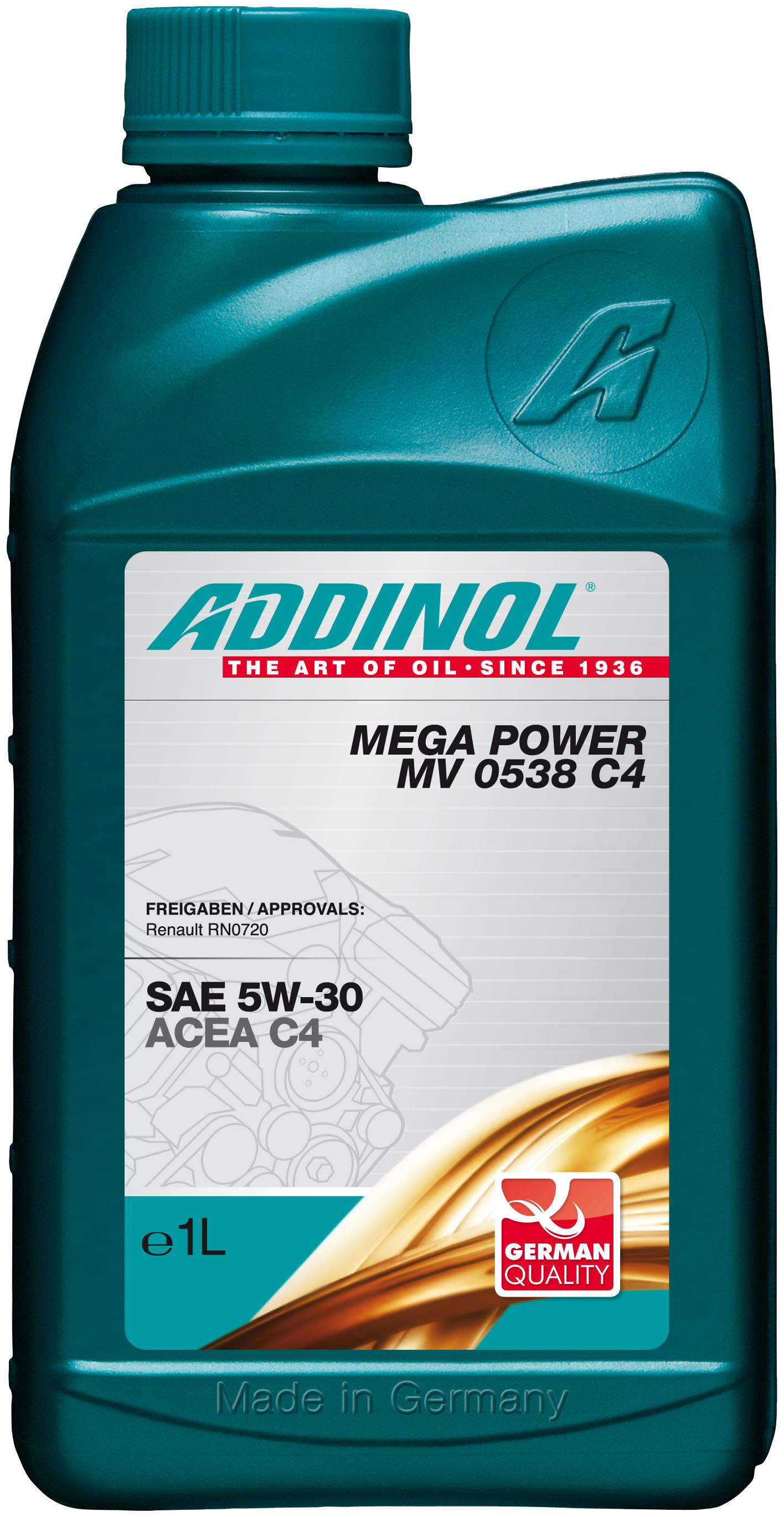 Mega Power MV 0538 C4 5W-30, 1л 4014766073259 ADDINOL – фото